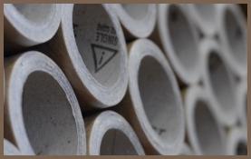 Produzione tubi cartone