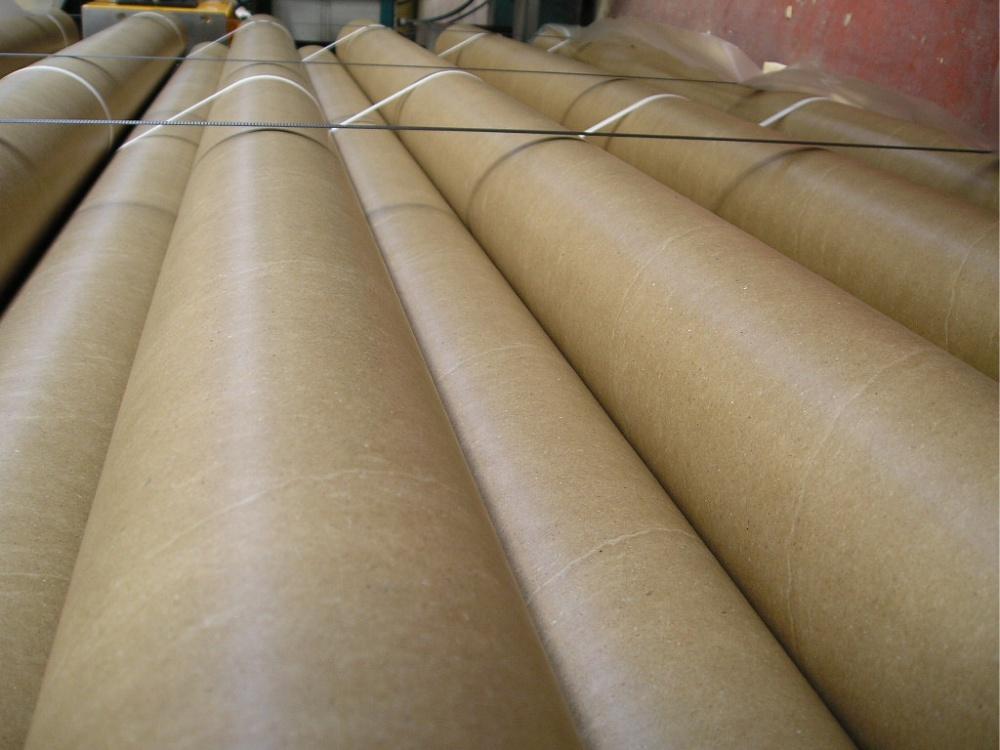 Anime e tubi di cartone rettificati industriali