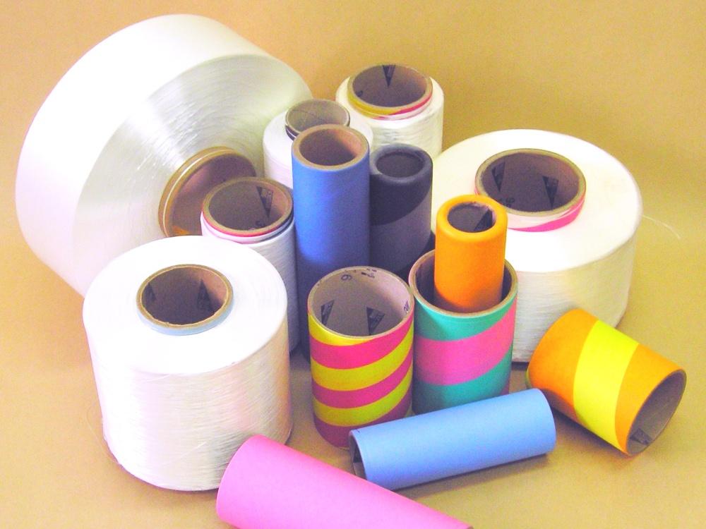 Anime e bobine di cartone per filatura